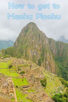 Machu Picchu, Peru is one of the ultimate travel destinations. Surrounded by beautiful nature, many take trips around the world just to admire the famous ruins.  There are many ways to reach the site - with the option to hike with a guide along the renown