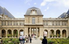 Situated in the historical Marais district, the Musée Carnavalet is dedicated to the history of Paris from its origins to present day. Opened in 1880, the current museum occupies