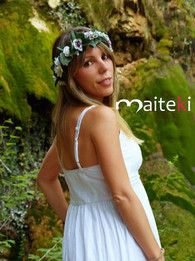 Nueva colección Maiteki Tocados de flores. Diademas y coronas de flores