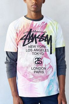 Stussy Punk Heads Tee on shopstyle.com