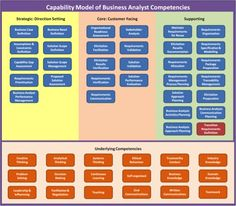 Figure 1: Business Analyst Competency Model