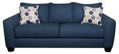 Shop for a Bonita Springs Blue Sleeper Sofa at Rooms To Go. Find Sleeper Sofas that will look great in your home and complement the rest of your furniture. Rooms To Go Furniture, Sofa Furniture, Shabby Chic Furniture, Furniture Stores, Furniture Design, Blue Loveseat, Sleeper Sofas, Blue Sofas, Landscaping