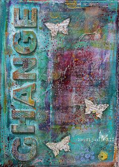 Change art journal cover by Nordljus #mixed_media #art