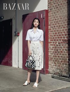Park Min Young, Lace Skirt, Midi Skirt, Sequin Skirt, Korean Star, Korean Girl, Korea Fashion, Fashion Photo, Great Photographers