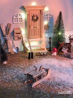 Ein Zuhause für einen Wichtel- magische Weihnachten für Kinder mit der Wichteltüre oder Nissedörr