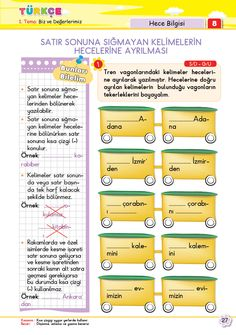 Turkish Language, Writing A Book, Special Education, Student, Reading, Books, Livros, Write A Book, Book