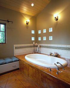 Master Bath eclectic bathroom