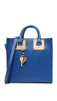 SOPHIE HULME Square Tote. #sophiehulme #bags #shoulder bags #hand bags #leather #tote #