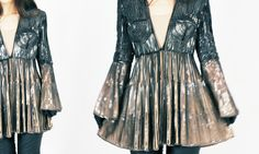 Love this designer. Crazy coat made out of chains. Definitely a time and talent constraint for us but uhhhmazing.