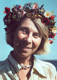 Tove Marika Jansson (9 August 1914 – 27 June 2001) was a Swedish-speaking Finnish novelist, painter, illustrator and comic strip author. She is best known as the author of the Moomin books for children, though her novels and short stories for adults have found a wider audience.