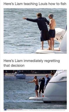Omg lol so true though, I live for Lilo moments! One Direction Humor, I Love One Direction, Direction Quotes, Louis Tomlinson, Irresistible One Direction, 5sos, 1d Imagines, Fishing Humor, Lol Pics