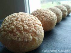 Choux craquelin de Michalak Maman Tambouille ! Mini Desserts, Petits Desserts, Biscuit Cookies, Bakery, Deserts, Brunch, Gluten Free, Bread, Cooking