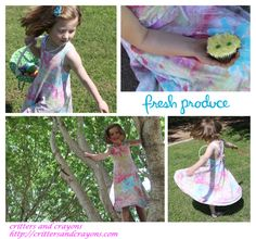 A Product Review of Fresh Produce's Girl's Twirly Dress in Happyness.  LOVE.