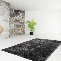 Teppich Fußboden Design Diamond 700 Anthrazit 200cmx290cm A101033