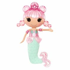 boneca lalaloopsy mermaid sereia bolhas de sabão