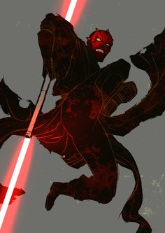 Darth Maul by sagano-moss Ahsoka Tano, Star Wars Rebels, Star Wars Characters Pictures, Animal Doodles, Star Wars Drawings, Star Wars Fan Art, Star War 3, Daddy, Galaxy Art