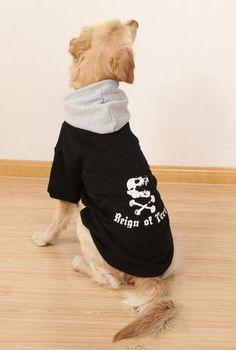 Dog Hoodies Cobweb Pattern Pet Dog Cotton Hoodie French Bulldog Clothes Shirt Chihuahua Puppy Clothes Chihuahua Soft Tshirts Pet Supplies