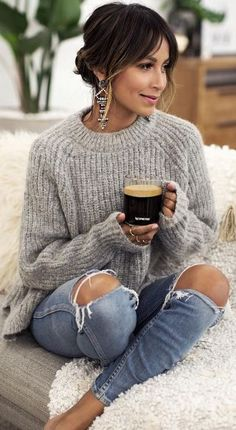 Best Sweater Outfit Ideas To Pop Up Your Looks