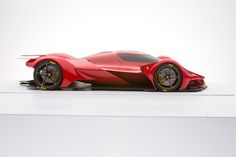 Ferrari Piero T2 LM (the reclaim of Le Mans) on Behance