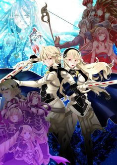 Fire Emblem: Fates <-- I'm so happy it's finally 2016 b/c it's finally going to release in America in a month!