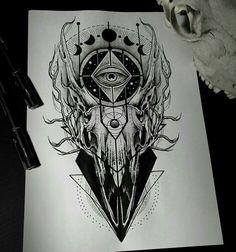 Ideas tattoo ideas for guys side design Skull Tattoos, Leg Tattoos, Black Tattoos, Body Art Tattoos, Sleeve Tattoos, Female Tattoos, Faith Tattoos, Music Tattoos, Word Tattoos