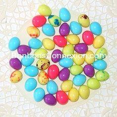Easter mini eggs - Mini oeufs de Pâques  #bonbonspaques #eastercandy