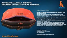 SOLAS LIFE RAFT AUTOMATIC SELF- RIGHTING INFLATABLE LIFERAFTShttps://flic.kr/p/22BdXqi