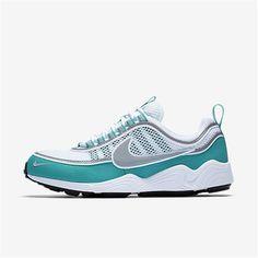 newest e7302 089ba Nike Air Zoom Spiridon (White   Turbo Green   Laser Orange   Silver) Botas