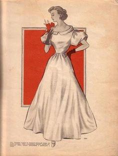 1930s Evening Dress Pattern