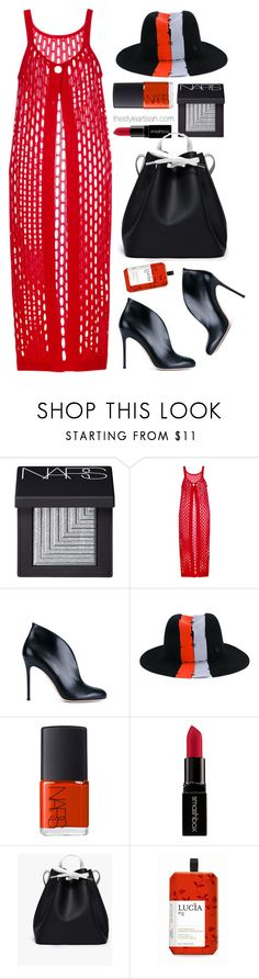 """Marni"" by thestyleartisan ❤ liked on Polyvore featuring NARS Cosmetics, Marni, Gianvito Rossi, Maison Michel, Smashbox, PB 0110, Lucia and brunch"