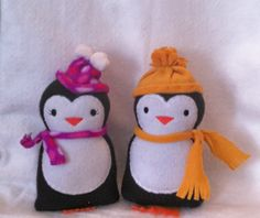Penguin Softie by EmbroideryStuff on Etsy, $7.50