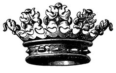 """$2.99 - Clear Stamp (2.5""""X3"""") Engraved Crown Flonz Vintage Unmounted Acrylic #ebay #Home & Garden"""
