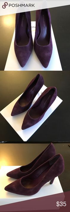 Super cute BCBG Generation purple pumps Pumps were only worn 3x and in good condition. The heels are 3.5inches. BCBGeneration Shoes Heels