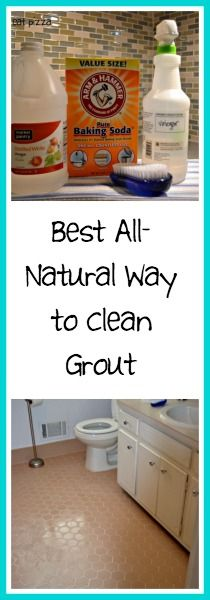 Best All Natural Way to Clean Grout!