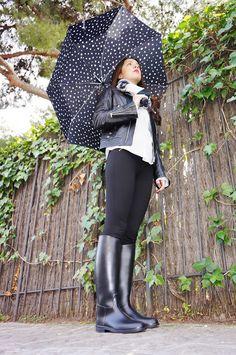 ¡Conjunto para días de lluvia! / A rainy outfit! - Marta Barcelona Style