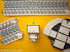 a very merry robot advent calendar // next to nicx