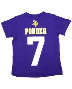 Nike Boys  Minnesota Vikings Christian Ponder T-Shirt Christian Ponder b000d768d