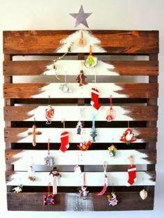 * Decoração e Invenção *: Árvore de Natal com palete