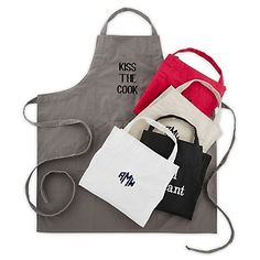 For the baker, the cook or the whipper-upper, our personalized Cinched Baker's Aprons are perfect. Fully adjustable with extra long ties and 4 sectioned front pockets, you can embroider your name, monogram or a short message on the front. https://www.thingsremembered.com/cinched-bakers-aprons/product/344474?fcref=pinterest