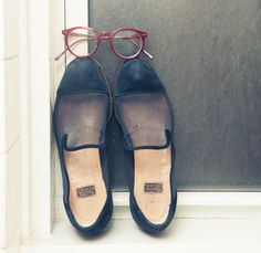 Glasses, Silver Lining Opticians; Shoes, Walter Steiger