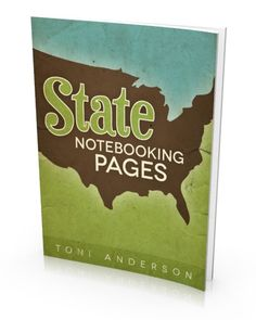 Download your FREE copy of our State Notebooking Pages eBook | The Happy Housewife