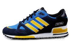 3a90c2b818df Soldes 2016 Nouvelle Femme/Homme Adidas Originals ZX750 Bleu Noir Jaune  Blanche Paris Top Deals 3f3icCr, Price: $70.00 - Adidas Shoes,Adidas  Nmd,Superstar, ...