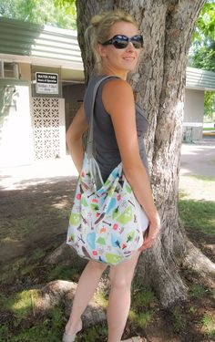 Outdoorable Trendy Tote – Nuggles Designs Canada