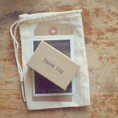 Wood and grain thank you notes