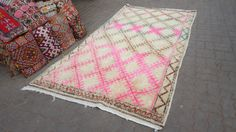 Gorgeous Moroccan azilal tapis berber by allomorrocanrugs on Etsy