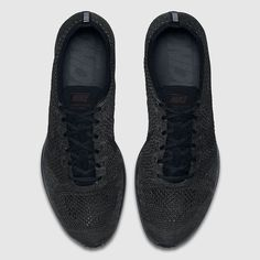 82798968de781 Explore and buy the Nike Flyknit Racer  Triple Black Midnight . Stay a step  ahead of the latest sneaker launches and drops.