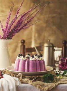 Tarta de queso y moras silvestres by Kanela y Limón