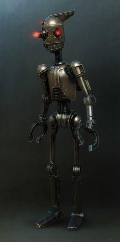 Lame robot Picture  (3d, sci-fi, robot)