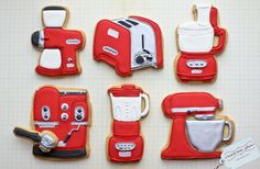 Kitchen appliances cookies