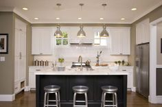 U Shaped Kitchen With Island Bench